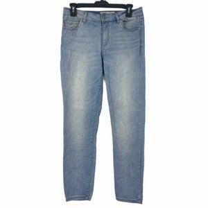 Garage Womens Blue Skinny Jeans Juniors 9
